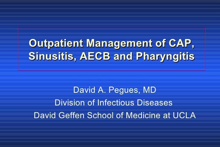 Cap Sinusitis Pharyngitis Im0306.Ppt