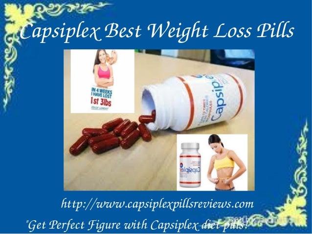 Capsiplex best weight loss pills
