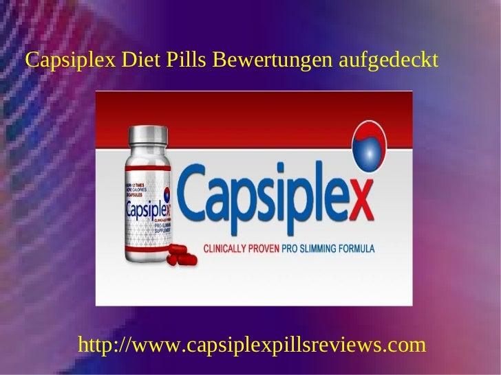 Capsiplex Diät-Pillen-Bewertungen