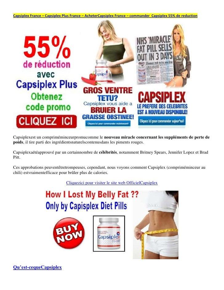 Capsiplex France – Capsiplex Plus France – AcheterCapsiplex France – commander Capsiplex 55% de reductionCapsiplexest un c...