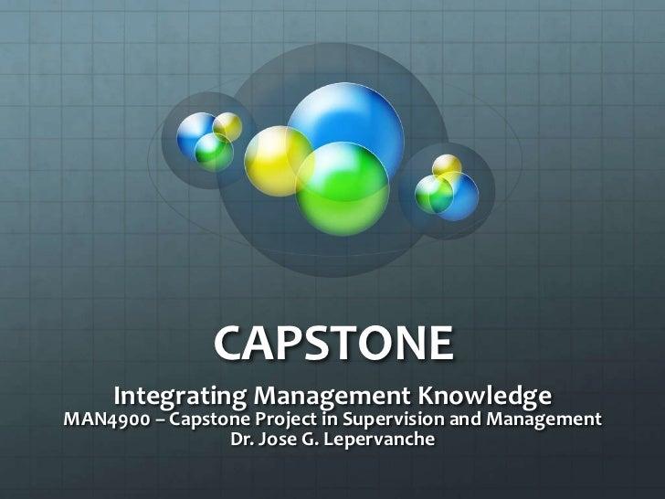 FSCJ Capstone MAN4900