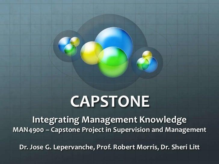 Capstone Conference 2010