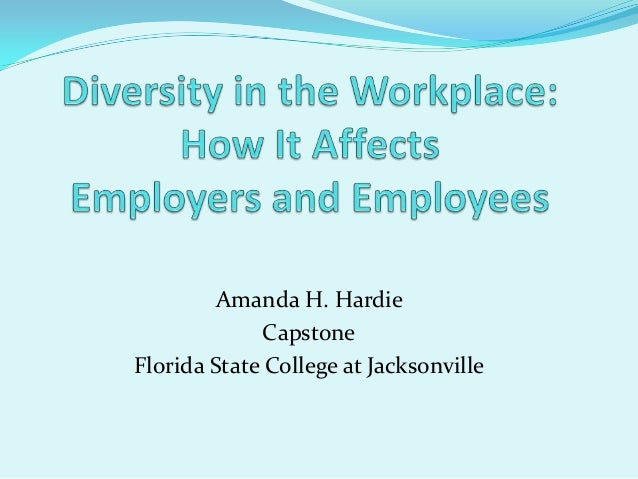 Capstone diversity in the workplace videos