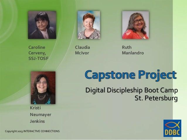 Capstone Project 2013