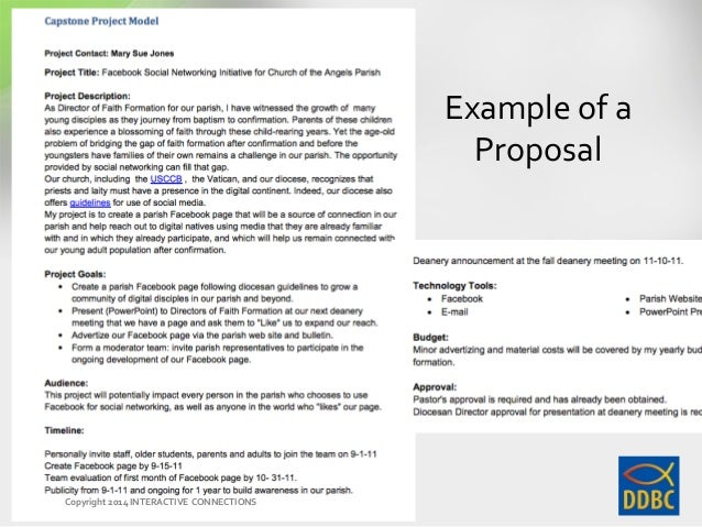 capstone project guidelines Proposal guidelines general project guidelines: the student must submit the proposal on or before the proposal due date and have formal approval before registering for the course.
