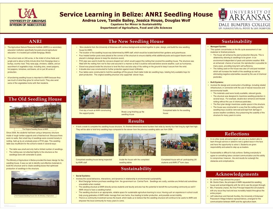 Service Learning in Belize: ANRI Seedling House                                                                           ...
