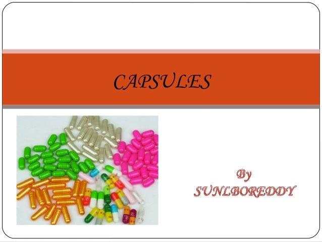 Capsule's
