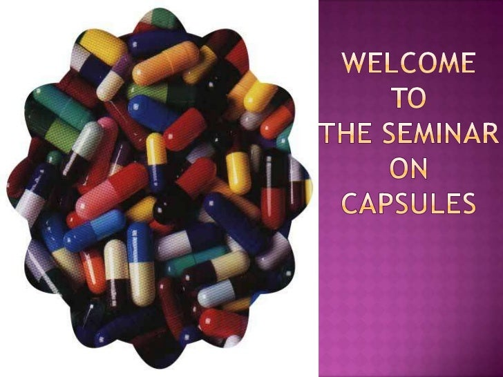 Capsules ppt by sameera