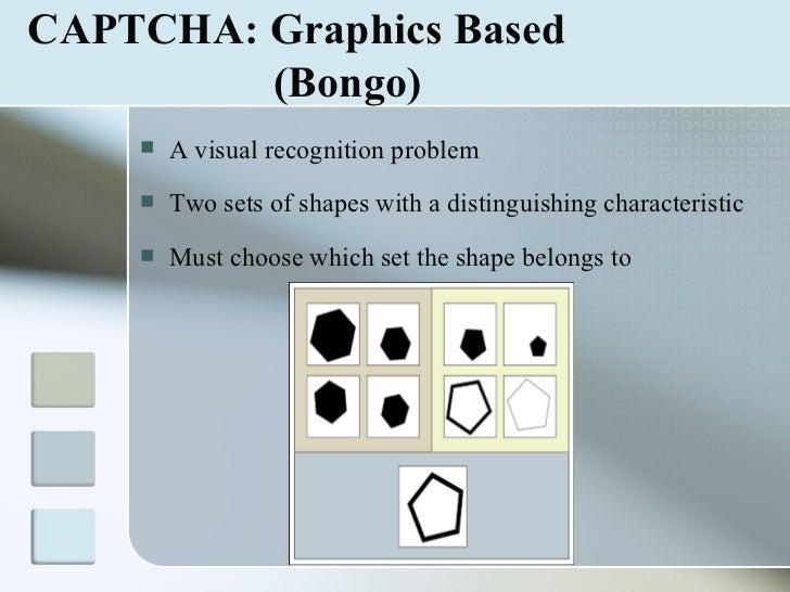 CAPTCHA Seminar PPT with pdf report