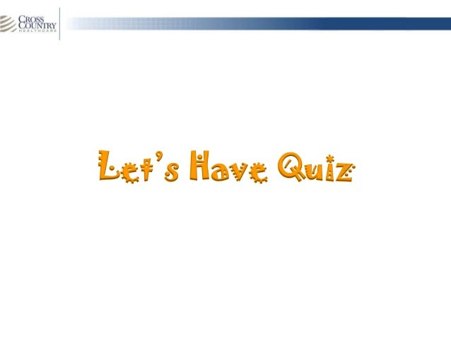 Slide 1Let's Have Quiz