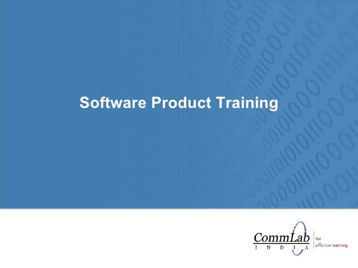 Software Product Training