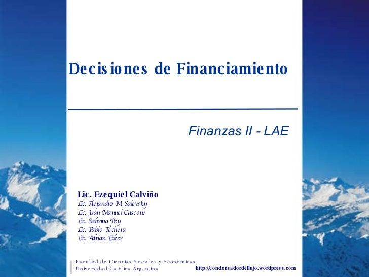 CapíTulo V   Deciciones De Financiamiento 2 Q08
