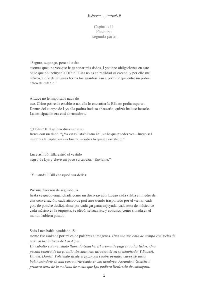 "Capítulo 11                                           Flechazo                                        -segunda parte-""Segu..."