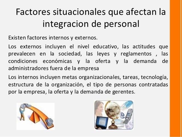 Factores Internos Y Externos Que Afectan El Presupuesto De