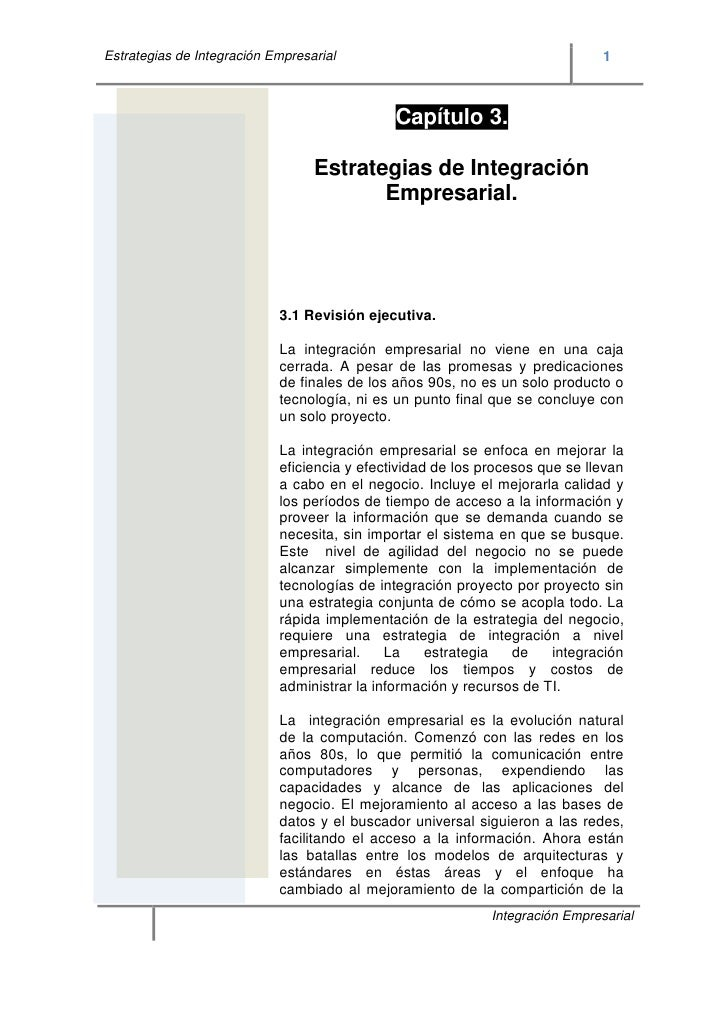 Estrategias de Integración Empresarial                                         1                                          ...