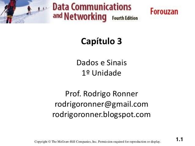 Capítulo 3   dados e sinais (1º unidade)