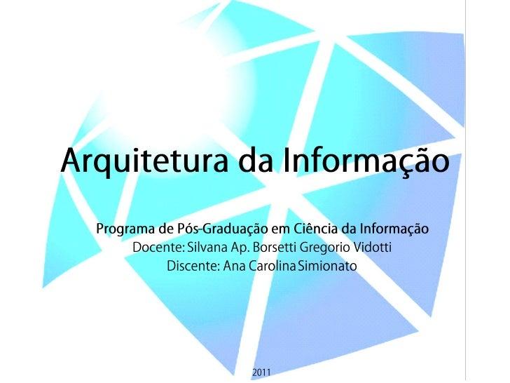 Arquitetura da Informação - Capítulo 9 – Tesauros, Vocabulário Controlado e Metadados