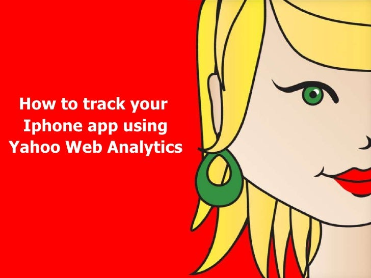 How to track your Iphone app using Yahoo Web Analytics