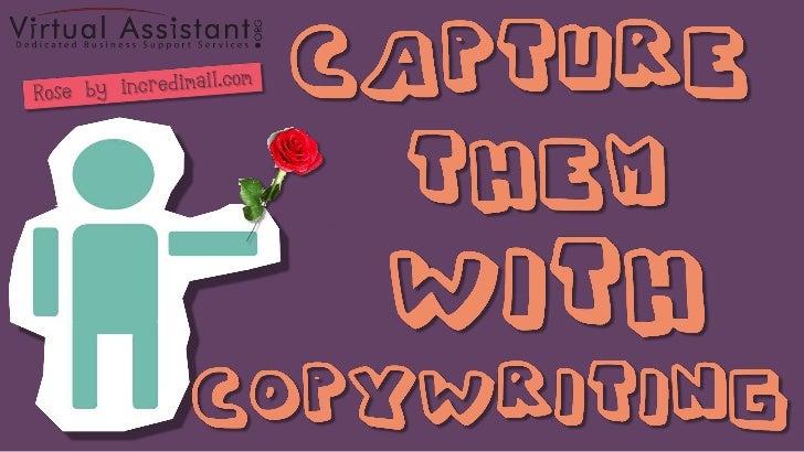 Capture Them with Copywriting