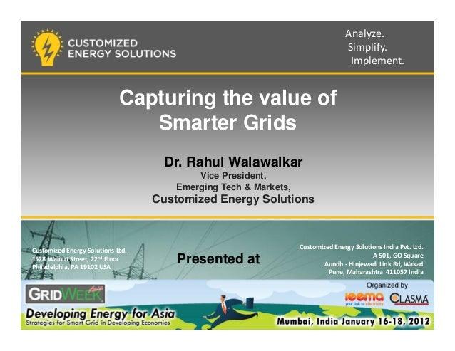 Capturing the value of smarter grids_IESA
