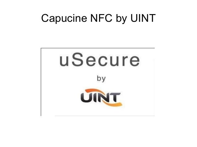 Capucine NFC by UINT