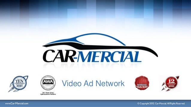 Car mercial video ad network ppt