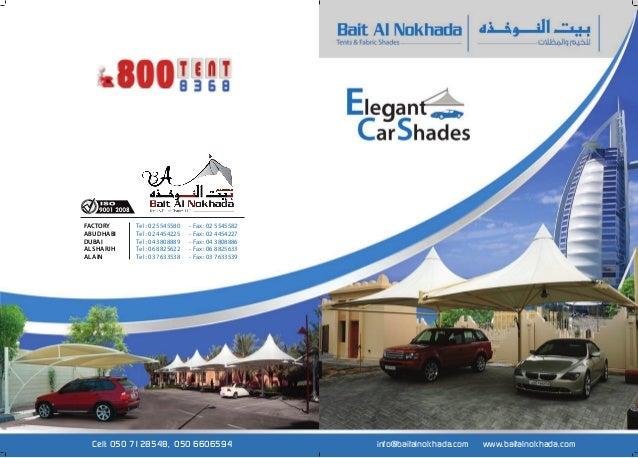 Car parking shade designs