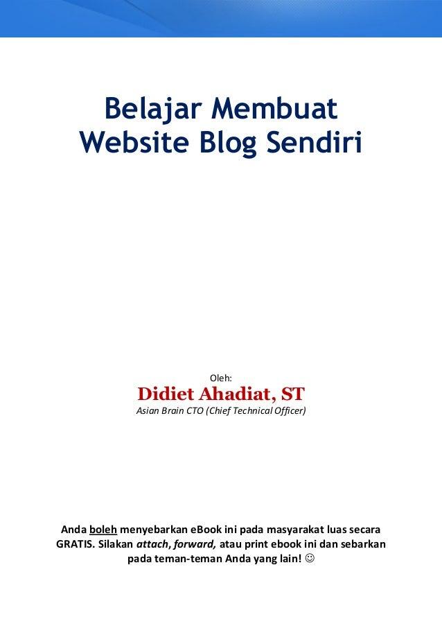 Cara membuat-web-blog