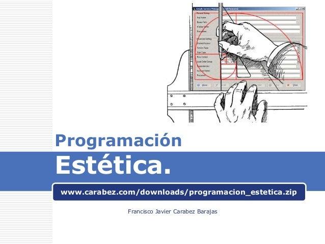 Aesthetic programming - Programación estética