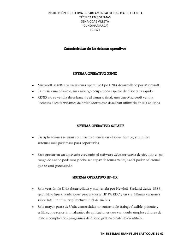 INSTITUCIÓN EDUCATIVA DEPARTAMENTAL REPUBLICA DE FRANCIA                             TÉCNICA EN SISTEMAS                  ...