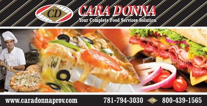 Caradonna Food Prov Branding Campaign