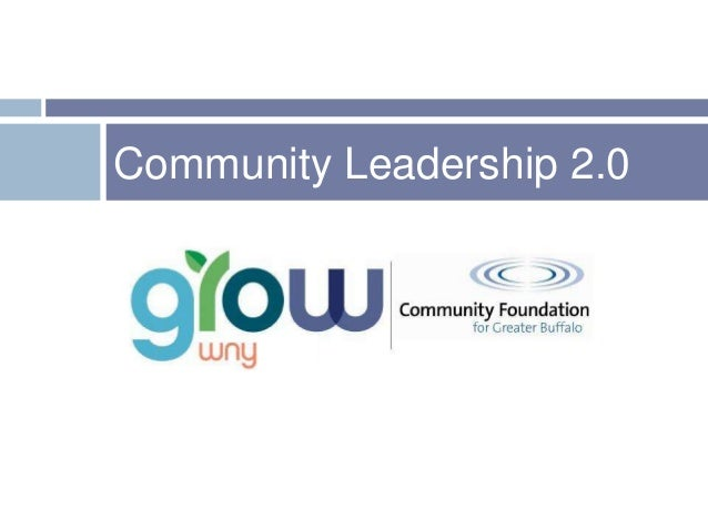 Community Leadership 2.0