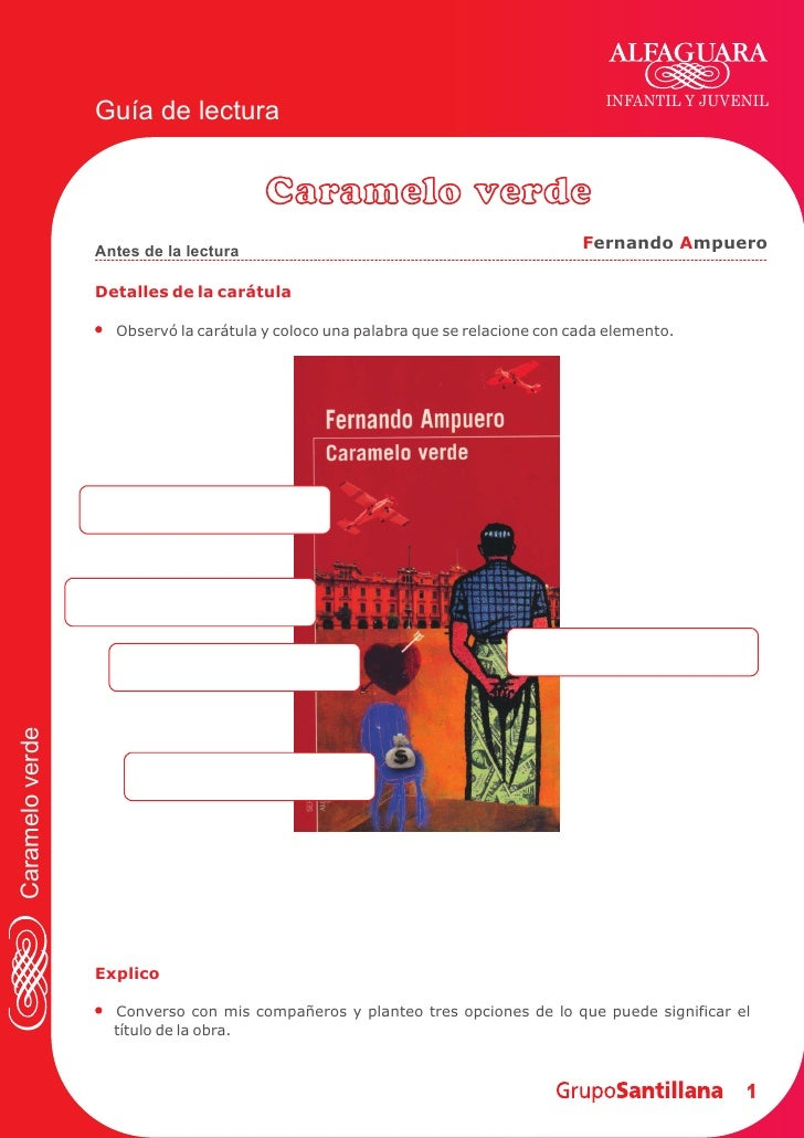 INFANTIL Y JUVENIL                  Guía de lectura                                          Caramelo verde               ...