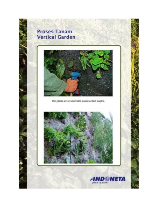 Cara menanam vertical garden 0811-900858