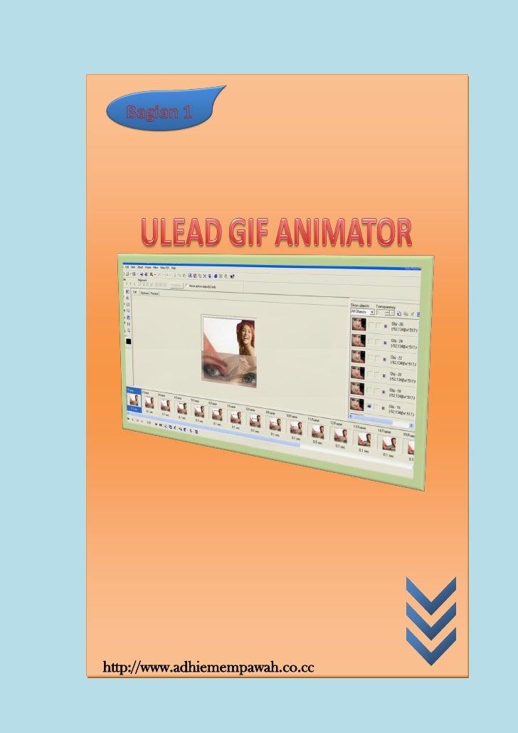 Cara mudah membuat banner animasi dengan ulead gif animator