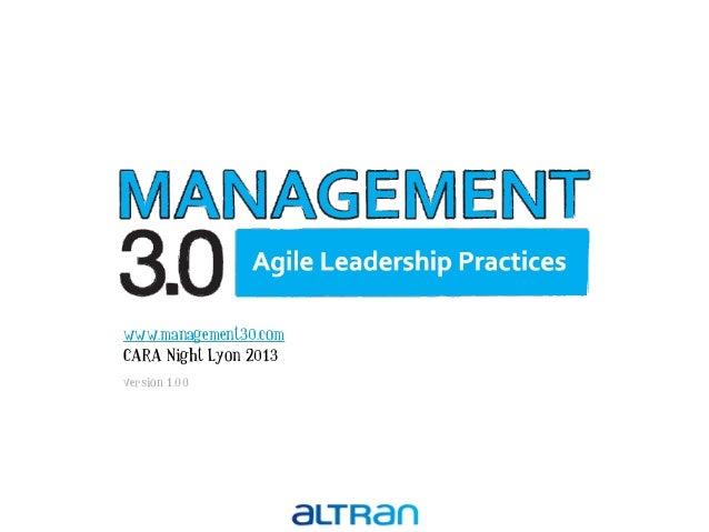 Management 3.0 : les mérites