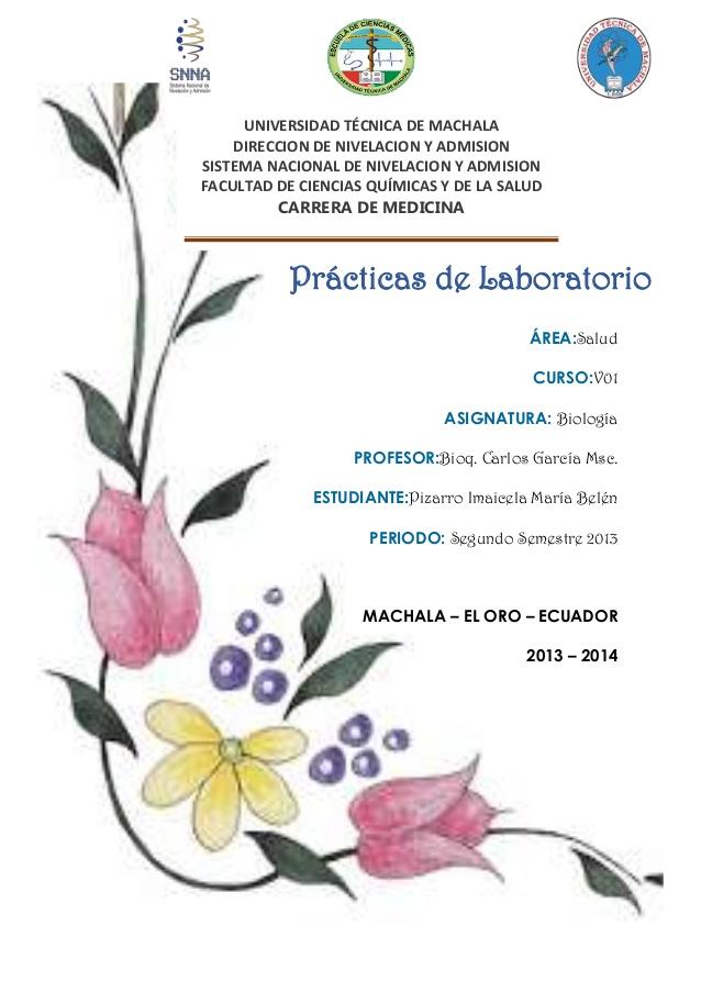 laboratorio de biologia: