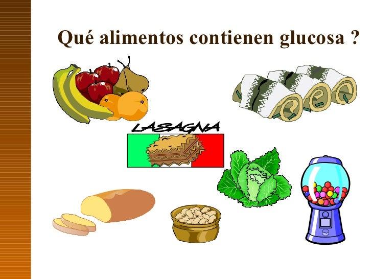Carbohidratos en alimentos - Alimentos bajos en glucosa ...
