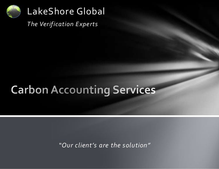 Carbon Accounting Overview