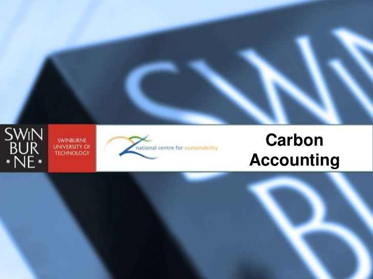 CarbonGreen is nice, but can it make me money?                          Accounting
