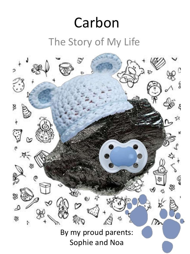 Carbon babybook for Adopt an element project ideas