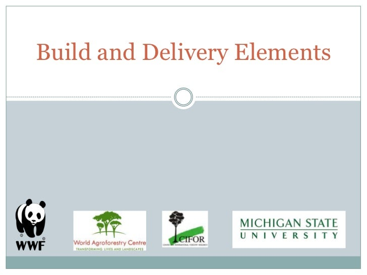 Build and Delivery Elements