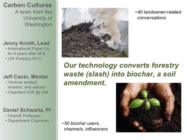 Carbon cultures final presentations