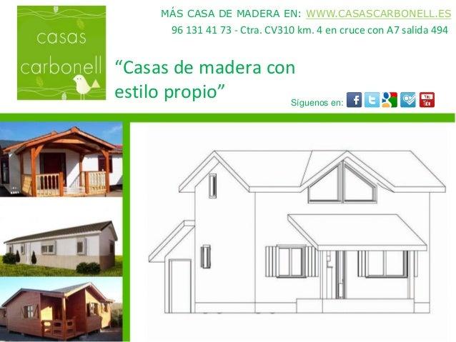 Casas prefabricadas madera venta casas de madera valencia - Casas de madera valencia ...