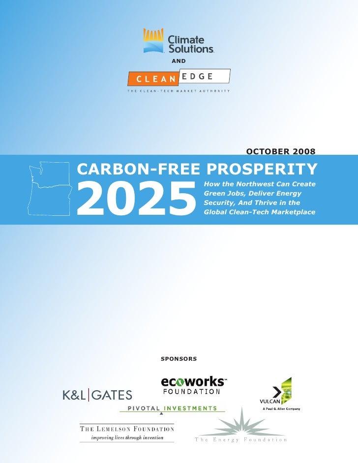 Carbon Free Prosperity 2025
