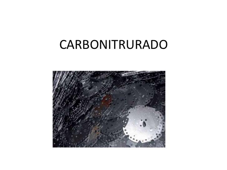 CARBONITRURADO