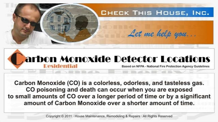 """For more important details about Carbon Monoxide detectors            please visit """"Safety"""" category on:www.checkthishouse..."""