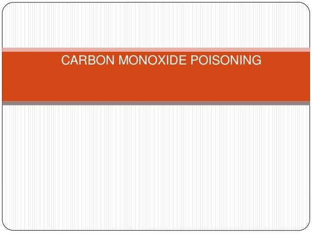Carbon monoxide poisoning skin