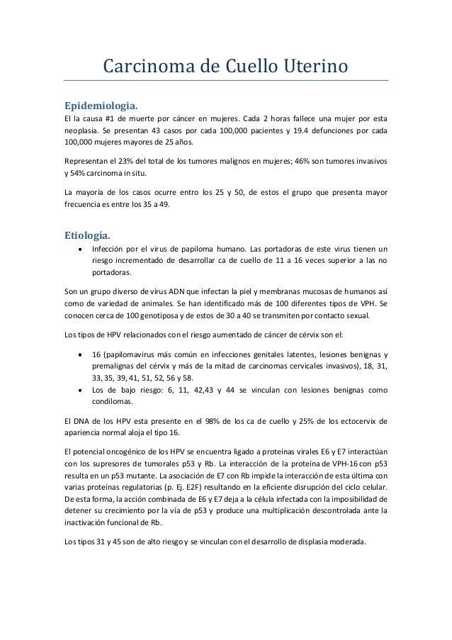 Carcinoma de cuello uterino (1)
