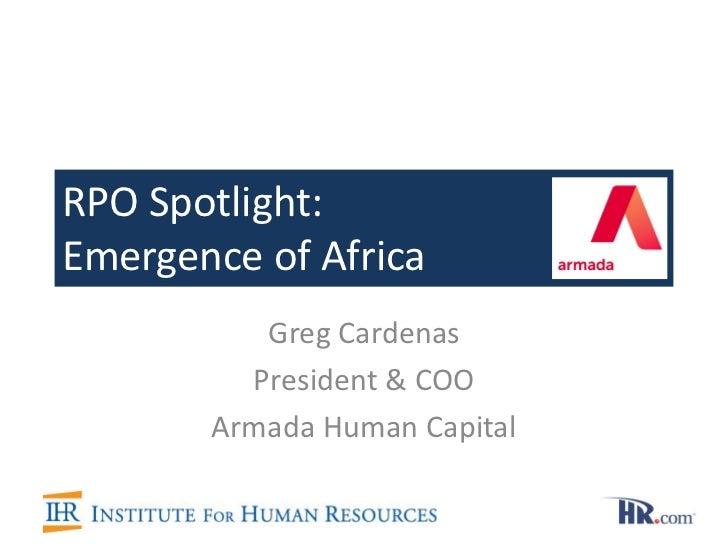 Cardenas Rpo Spotlight Emergence Of Africa 18 1 12